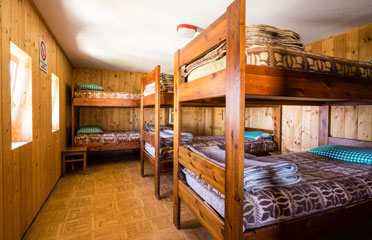 Bedrooms on the mountain - Hut Pisciadu - Sellagroup